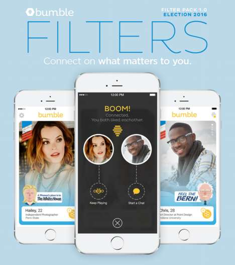 Dating App Election Filters - This Dating App Allows Users to Reveal Their Political Leanings
