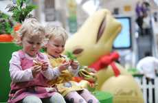 Branded Easter Egg Hunts - The Lindt Gold Bunny Hunts Series Will Travel Around the UK