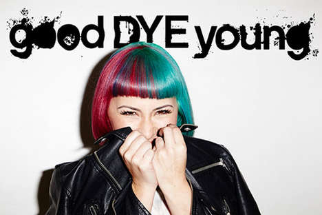 Vibrant Vegan Hair Dyes - 'goodDYEyoung' is a Vegan Hair Color Line by Paramore's Lead Singer