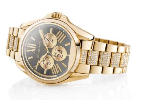 Chic Designer Smartwatches - The Michael Kors Smartwatch Looks Like the Brand's Traditional Design