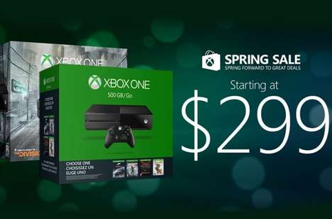 Seasonal Gaming Console Sales - The Microsoft Spring Sale Offers Discounted Xboxes and More