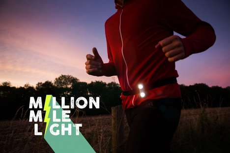 Battery-Free Flashlights - The 'Million Mile Light' is a Bright Flashlight for Runners and Athletes