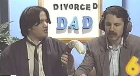Nostalgic Divorcé Series - 'Divorced Dad' is a Series That is Humorously Styled Like Cable Access TV