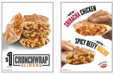 Spicy Handheld Wraps