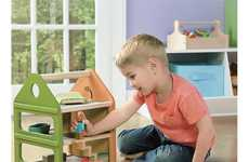 Boy-Specific Dollhouses - This Dollhouse for Boys Boasts a Neutral Design Aesthetic