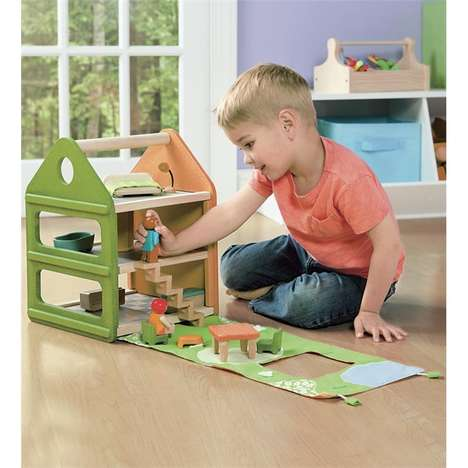 Boy-Specific Dollhouses - This Dollhouse for Boys Boasts a Neutral Design Aesthetic