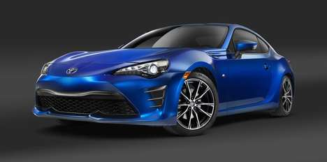 Collaborative Sports Cars - The Toyota GT86 Features Upgrade Power and Improved Torque