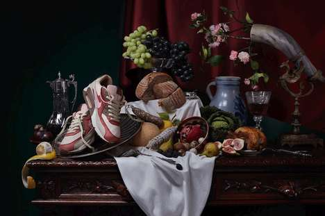 Classic Art Sneaker Tableaus - The Highsnobiety Nike Air Max Day Series References the Dutch Masters
