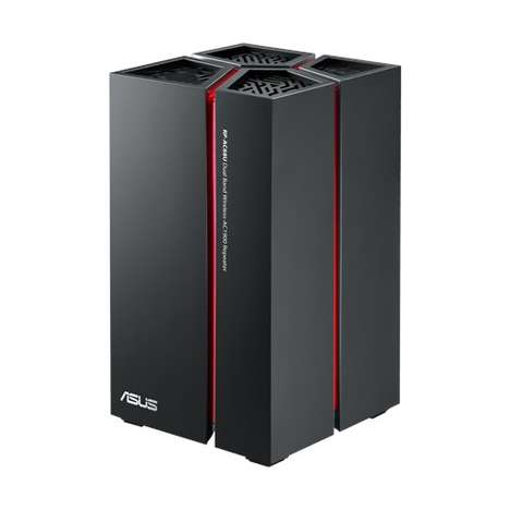 Supercharged Network Repeaters - The Asus Dual-Band WiFi Network Extender is Powerfully Designed