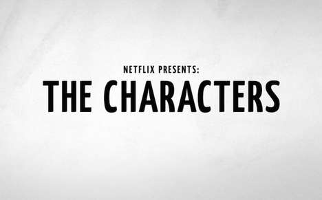 Streaming Comedy Shows - 'The Characters' is a New Comedy Sketch Series from Netflix