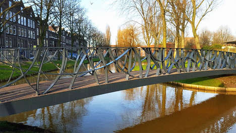 Long-Lasting Plastic Bridges - This City of Rotterdam is Replacing Old Bridges with New Plastic Ones