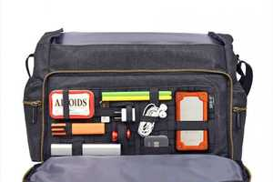 The Cocoon Urban Messenger Bag Can Compartmentalize Every Item