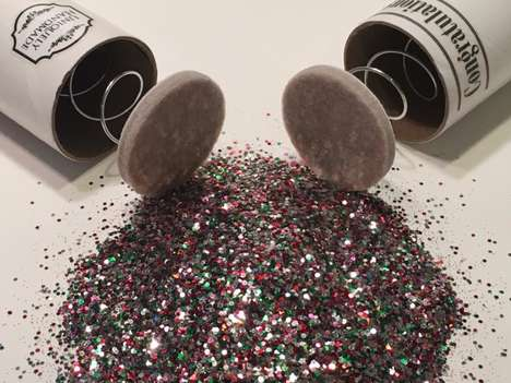 Exploding Glitter Mail Services - These Spring-Loaded Glitter Bombs Can be Sent to Friends and Foes