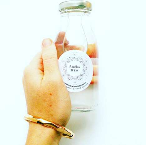 Crystal-Infused Water - Rock & Raw's High Vibrational Gem Water is Infused with Healing Energy