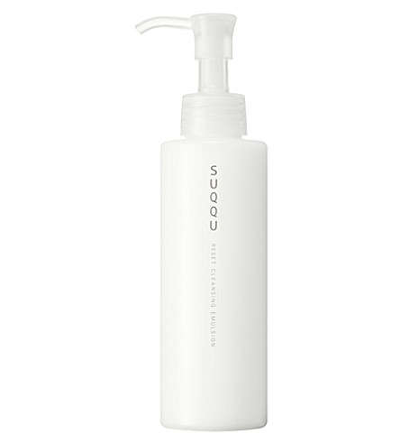 Waterless Facial Cleansers - The SUQQU Reset Cleansing Emulsion Cleans When Water Isn't Available