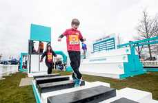 Wearable Brand Activations - This Fit Bit Event Invited People to Try Its Obstacle Course