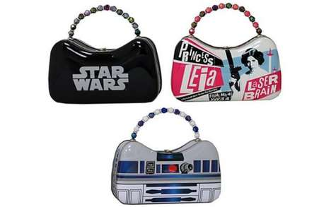 Tin Sci-Fi Purses - The Star Wars Tin Scoop Purses are Made for Weekend Styling