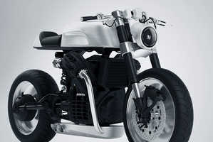 The CX500 Bike Features a Minimalist Aesthetic with Exposed Parts