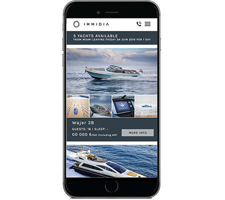 On-Demand Yacht Rentals - IMMIDIA is Like the Uber of the Seas