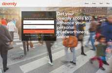 Online Trust-Enhancing Sites - Deemly Gives Reputation Scores to Improve Personal Trustworthiness