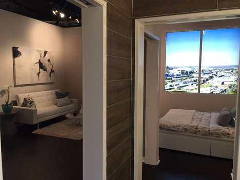 Compact Condo Buildings - The Ivy Lofts' Micro Condo Units Allow For Affordable Urban Living