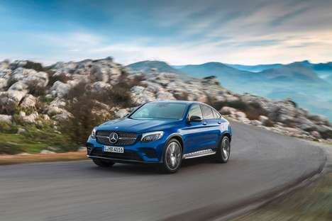Sporty Upgraded Coupes - The New Mercedes GLC Coupe is Designed to Look Ultra-Sporty