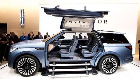 Rejuvenated SUV Concepts - Lincoln's Navigator SUV Concept Offers Boosted Performance & Sleek Design