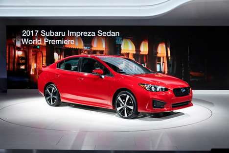 Vibration-Reducing Cars - The New Subaru Impreza Guarantees Reduced Steering Wheel & Floor Vibration
