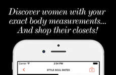 Tailored Luxury Marketplaces - 'Shop Hers' Matches Women with Similar Body Measurements and Closets