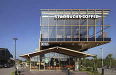 Farmhouse-Inspired Cafes - This New Starbucks Location in Bangkok is Modern Yet Rustically Inspired