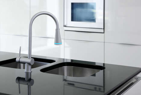 Sanitizing Kitchen Faucets - The 'Tern Water' Smart Water Faucet Analyzes and Cleans Water