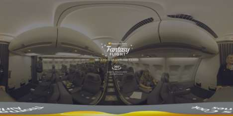 Fantasy Flight Simulators - Thomas Cook Airlines' Virtual Reality Viewing Previews Its Fleet
