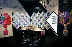 Dynamic Nail Polish Displays - This Formula X for Sephora Merchandising Explores the Color Spectrum