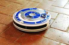 Robotic Vacuum Decals - The Bel & Bel Star Wars Decals Merge Sci-Fi with Household Cleaning