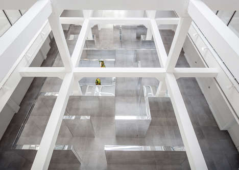 Disorienting Museum Interiors - This Installation Takes Museum Guests Through a Mirrored Maze