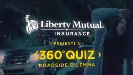 Immersive Insurance Videos - Liberty Mutual's 360-Degree Clip Simulates a Car Breakdown in the Woods