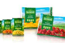 Redesigned Store Brand Products - The Unified Grocers 'Springfield' Brand is Vibrant and Fresh