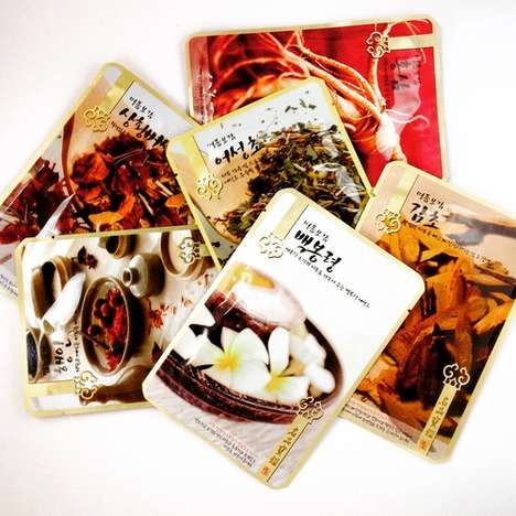 Soothing Herbal Sheet Masks - The Evercos Herbal Sheet Masks Draw on Traditional Korean Medicine
