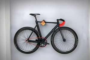 PARAX Designed a Simplistic Modern Bike Rack to Maximize Space