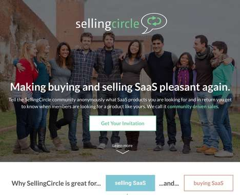 Sales-Focused SaaS Marketplaces