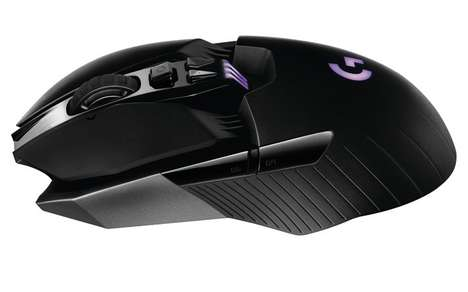 High-Performance Game Mouses - The Logitech G900 'Chaos Spectrum' Game Mouse is Dynamic