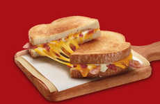 Convenience Store Breakfast Sandwiches - The New Hot Sandwiches from 7-Eleven are Made for Breakfast