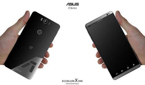 Tactile Smartphone Designs - This Concept ASUS Diverges From the Minimalist Mobile Movement