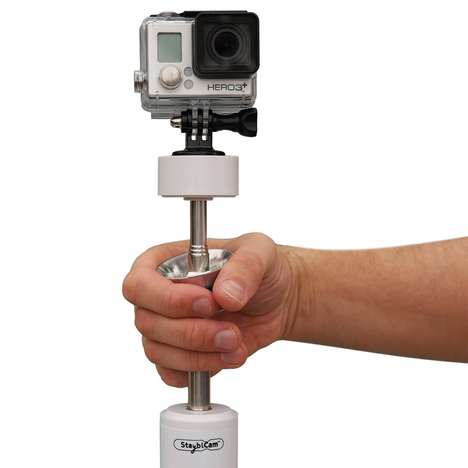Stabilizing Camera Mounts - The 'StayblCam' Video Stabilizer Works with Smartphones and the GoPro