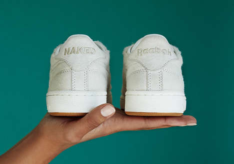 "Female Sneaker Shop Kicks - The Naked Reebok Club C ""Daze"" Shoe Will Only Have 100 Pairs"