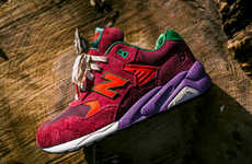 Forest-Inspired Cobranded Kicks - The Packer Shoes x New Balance Collab is Inspired by Pine Barrens