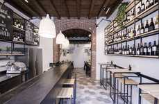 Rustic Sicilian Deli Shops - This Milan Restaurant & Deli Offers a Place to Sit and Snack