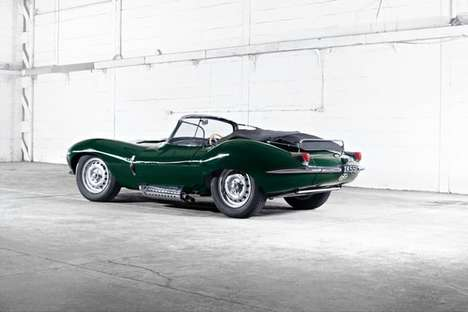 Resurrected Racing Cars - These Classic Jaguar XKSS 1957 Cars are Being Brought Back From the Dead
