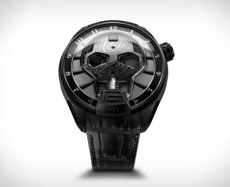 Sophisticated Skeletal Timepieces