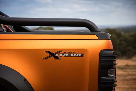 Extreme Dirt Truck Concepts - The Chevrolet Colorado Xtreme Offers Durable Off-Road Performance